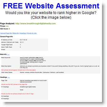free-seo-assessment