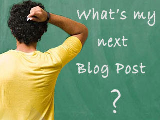What's My Next Blog Post?
