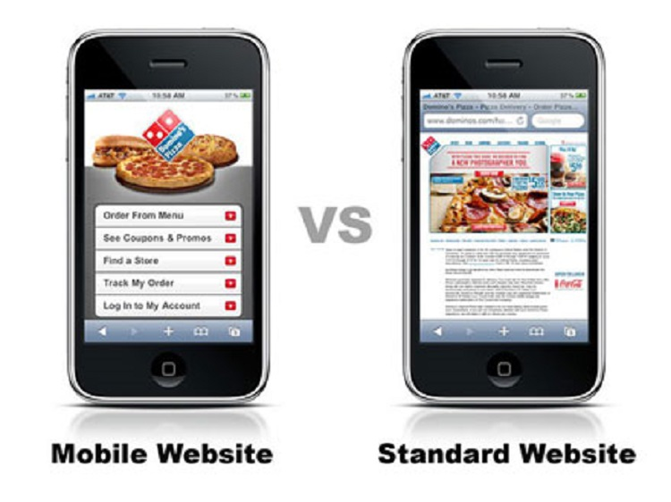 Mobile vs Desktop Website